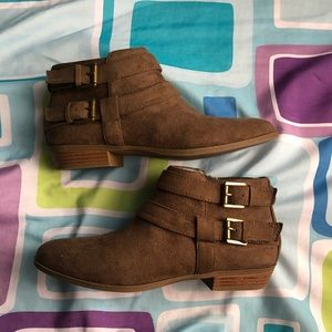 Women's Ankle Round Toe Booties